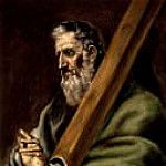The Apostle Andrew [school of], El Greco