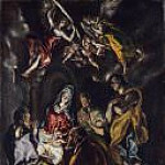El Greco - The Adoration of the Shepherds [and Workshop]