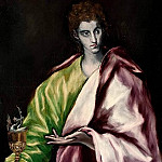 El Greco - Saint John the Evangelist