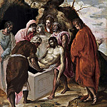 The Entombment of Christ, El Greco