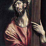 Christ with the Cross, El Greco
