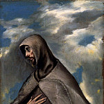 St.Francis of Assisi, El Greco