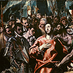 Disrobing of Christ, El Greco
