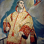 Vision of Saint Laurentius, El Greco