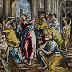 Purification of the Temple, El Greco