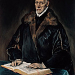 El Greco - Portrait of Dr. Francisco de Pisa