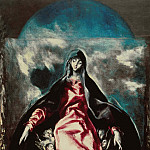 El Greco - Madonna of Mercy