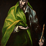 Apostle James the Greater, El Greco