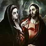 Christ bids Farewell to his Mother, El Greco