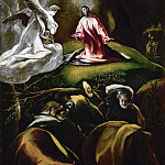 Christ at the Mount of Olives, El Greco