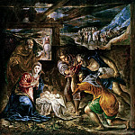 Adoration of the Shepherds, El Greco