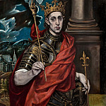 St Louis, King of France, El Greco