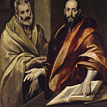 Saints Peter and Paul, El Greco