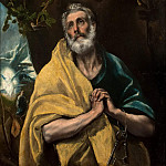 El Greco - Saint Peter in Tears