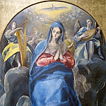 El Greco - The Virgin of the Immaculate Conception and St John