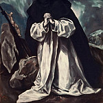El Greco - St. Dominic praying