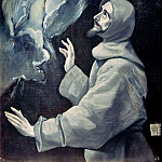 The Stigmatization of St. Francis, El Greco