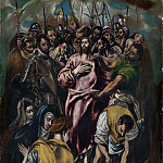 Jesus Christ stripped of his Garments [attr], El Greco