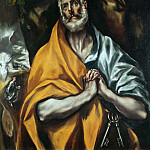 Saint Peter in Tears, El Greco