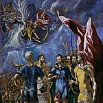 The martyrdom of St. Maurice, El Greco