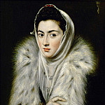 A Lady in a Fur Wrap, El Greco