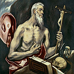 El Greco - Saint Jerome in Penitence