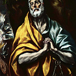 The Repentant St. Peter, El Greco