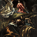 Jesus in the Garden of Olives, El Greco