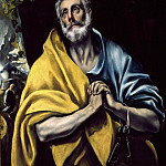 The Tears of Saint Peter, El Greco