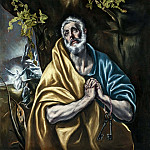 El Greco - The Penitent Saint Peter