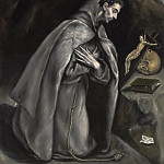 Saint Francis in Meditation, El Greco