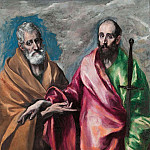 El Greco - Saint Peter and Saint Paul
