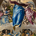 Diego Rodriguez De Silva y Velazquez - The Assumption of the Virgin