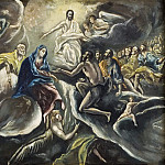 El Greco - Count Orgaz' funeral [After]