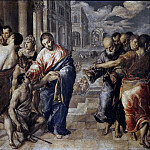 Christ healing the Blind, El Greco