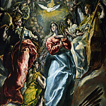 El Greco - The Assumption of the Virgin Mary
