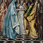 The Marriage of Mary, El Greco