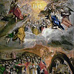 El Greco - Adoration of the Name of Jesus (The Dream of Felipe II)
