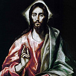 The Saviour, El Greco