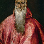 El Greco - Saint Jerome as a Cardinal