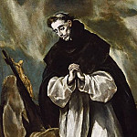 St. Dominic in Prayer, El Greco