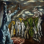 The opening of the Fifth Seal of the Apocalypse, El Greco