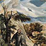 El Greco - St Francis Receiving the Stigmata