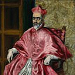 Portrait of a Cardinal, Probably Cardinal Don Fernando Niño de Guevara , El Greco