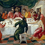 Last Supper, El Greco