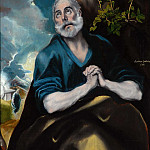 The Tears of St. Peter, El Greco
