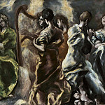 The Concert of the Angels, El Greco