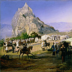 Roerich N.K. (Part 2) - The Summer Camp of the Regiment of Nizhegorodsky Dragoons near Karagach