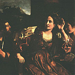 Guercino (Giovanni Francesco Barbieri) - Semiramis Receiving Word of the Revolt of Babylon