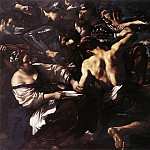 Guercino (Giovanni Francesco Barbieri) - Samson Captured by the Philistines